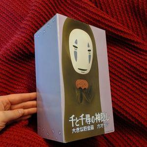 NWT No-Face Kaonashi Studio Ghibli Piggy Bank